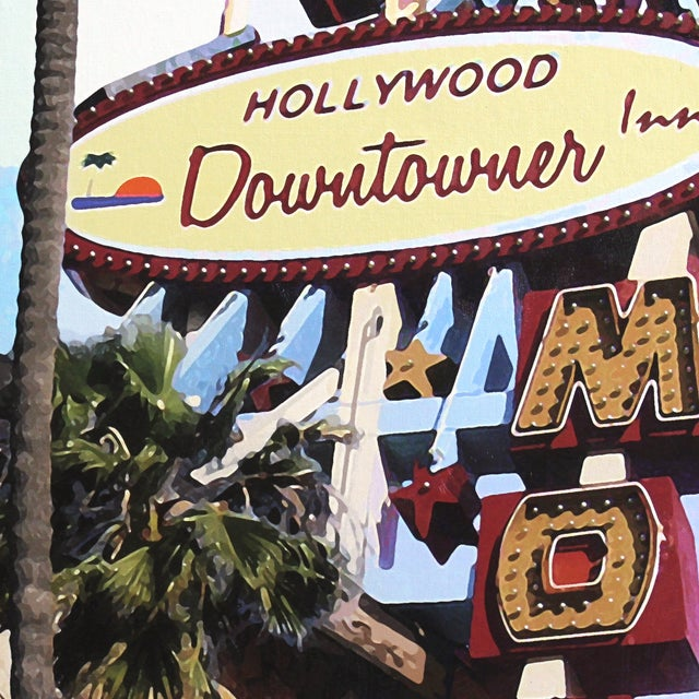 """""""Hollywood Downtowner"""" Original by Michael Giliberti - Image 5 of 9"""