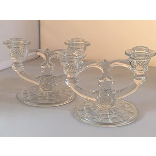 Vintage Indiana Glass Candelabras - A Pair Preview