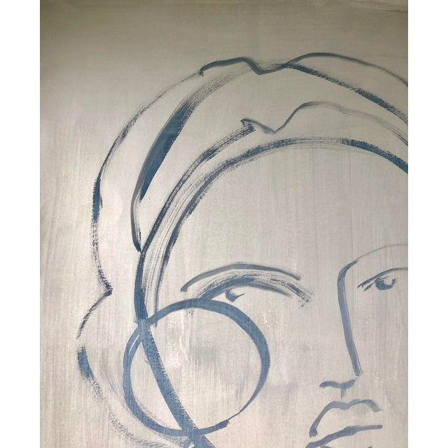 Abstract Hayley Mitchell Figure Painting For Sale - Image 3 of 7