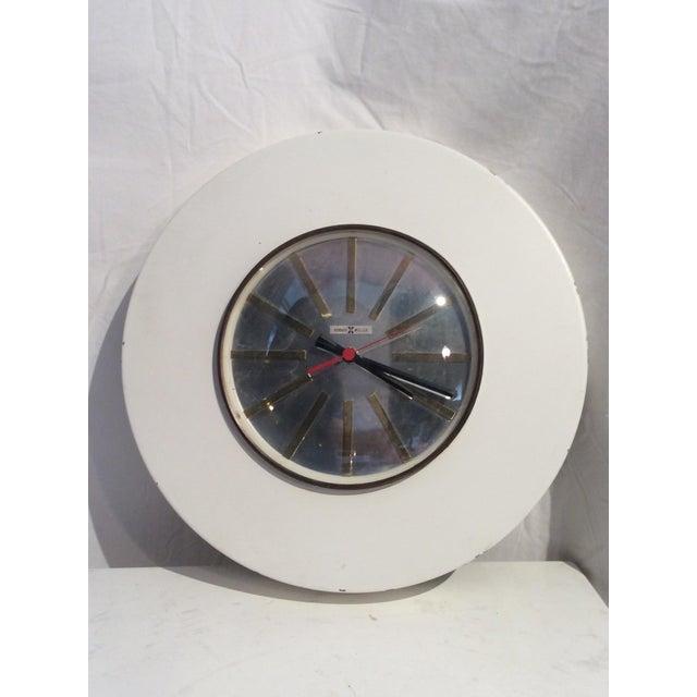 Howard Miller Mid-Century Modern Wall Clock - Image 5 of 5