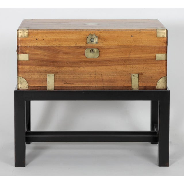 Antique Chinese Small Camphor Wood Chest For Sale In New York - Image 6 of 9
