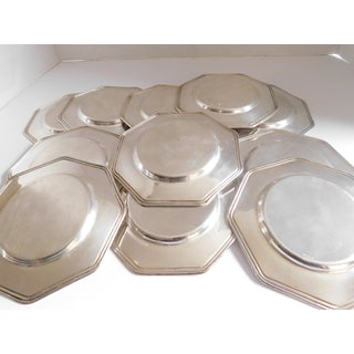 Sterling Mid-Century Bread/Appetizer/Dessert Plates - Set of Eleven Preview