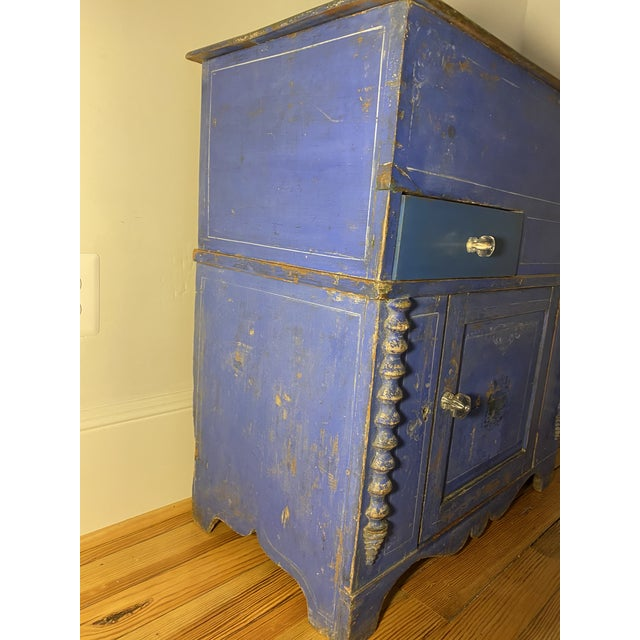 Antique Swedish Commode or Chest With Original Paint For Sale - Image 10 of 13
