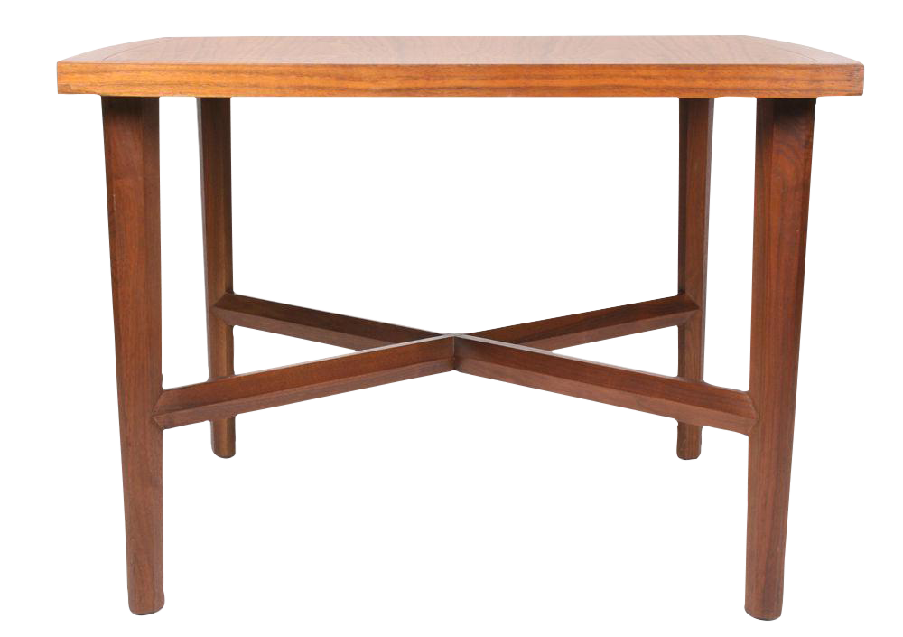 Walnut Origins Lamp Table After George Nakashima For Widdicomb For Sale