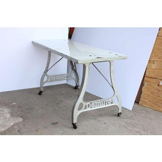 Antique Industrial Folding Table Preview