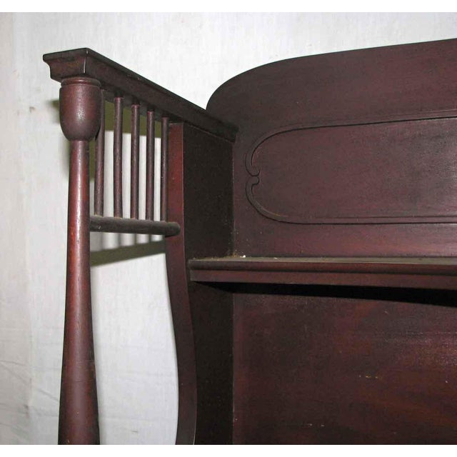 Mahogany Bookcase For Sale - Image 4 of 9