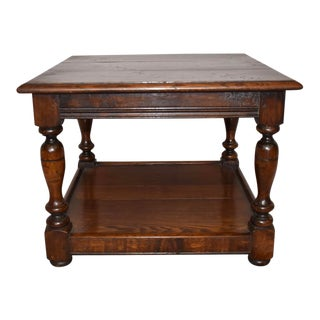 Jacobean Style Coffee Table For Sale