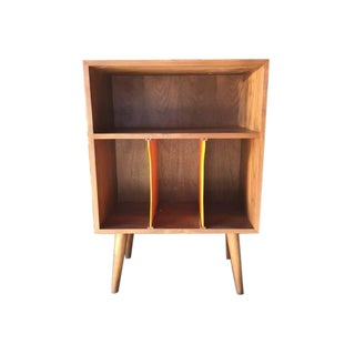 Mid-Century Style Record Stand For Sale