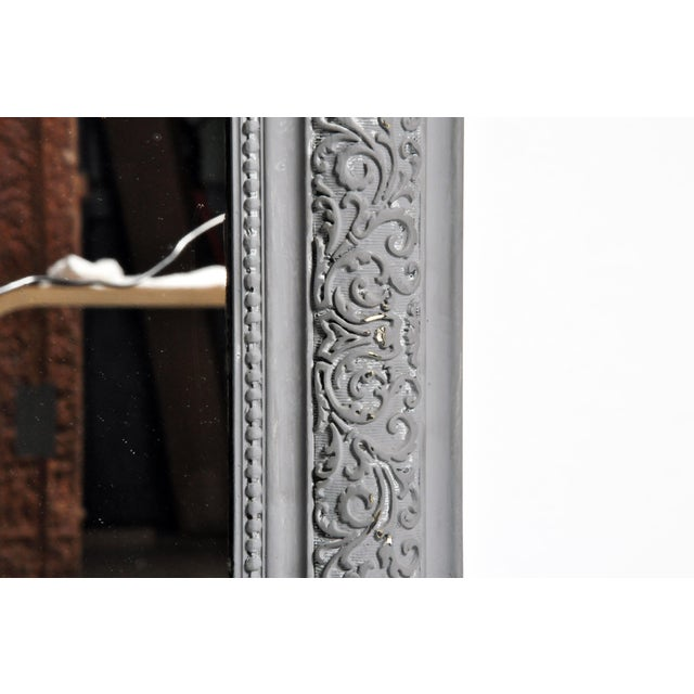 Gray Napoleon III Style Mirror For Sale - Image 8 of 11
