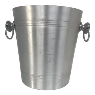 Late 20th Century Vintage French Vogalu Wine Cooler Ice Bucket For Sale