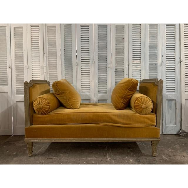 Early 18th Century Swedish Neoclassical Daybed For Sale - Image 9 of 9