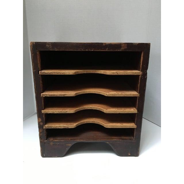 Vintage Wooden Paper Sorter - Image 2 of 11