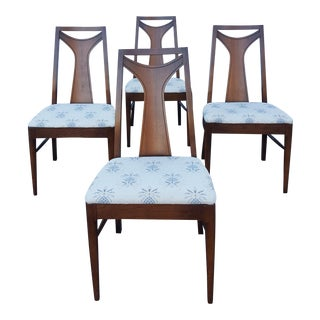 Mid-Century Kent Coffey Perspecta Dining Chairs - Set of 4