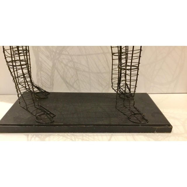 2010s Large Modern Giraffe Wire Sculptural Floor Lamp For Sale - Image 5 of 6