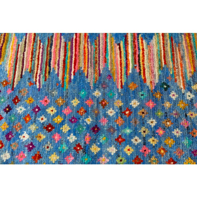 "Modern Gabbeh Rug, 2'7"" X 9'10"" For Sale In New York - Image 6 of 10"