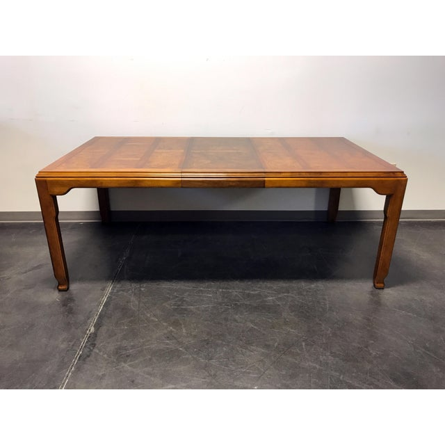 Brown CENTURY Chin Hua by Raymond K Sobota Asian Chinoiserie Dining Table For Sale - Image 8 of 11