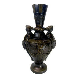 1990s French Neoclassical Amphora Vase For Sale