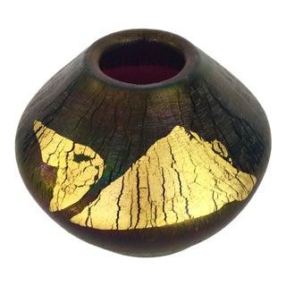 Robert Eickholt Studio Art Glass Bud Vase For Sale
