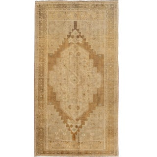 Early 20th Century Antique Turkestan Khotan Wool Rug 7 X 12 For Sale