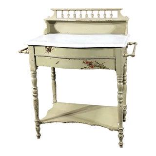 Antique Belle Epoque Painted Cabinet