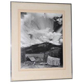 "Robert Werling ""Thunderstorm "" Black & White Silver Gelatin Photograph C. 1970s For Sale"
