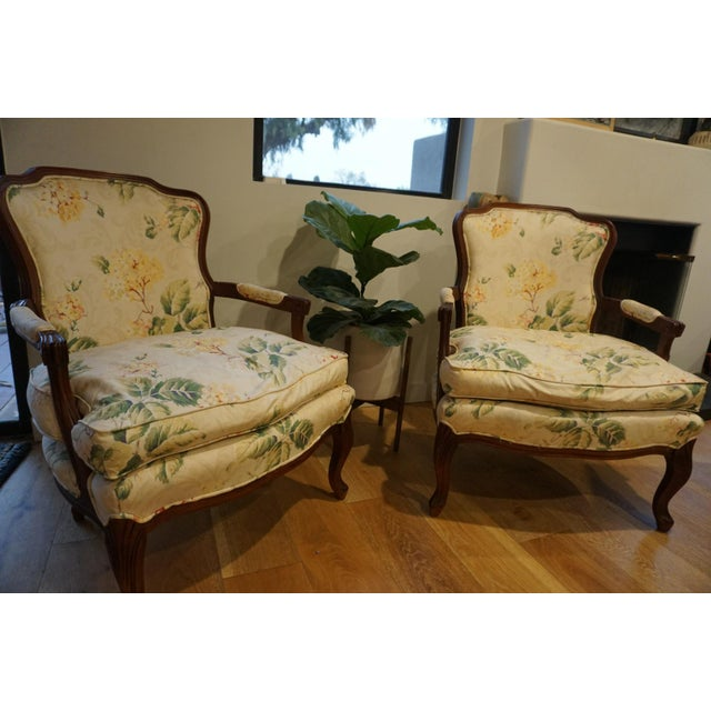 1980s 1980s Vintage French Berger Chairs- A Pair For Sale - Image 5 of 11