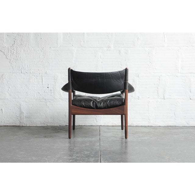 Kristian Solmer Vedel Modus Lounge Chair & Ottoman - Image 4 of 8