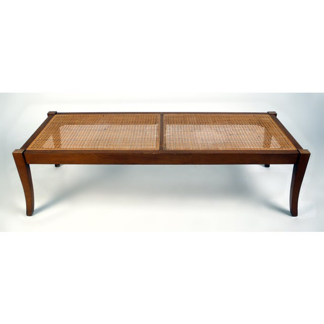 Sabre Leg Cocktail Table/Bench For Sale - Image 4 of 5