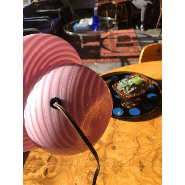 1970s Vetri Venini Murano Glass Mushroom Lamp For Sale - Image 10 of 13