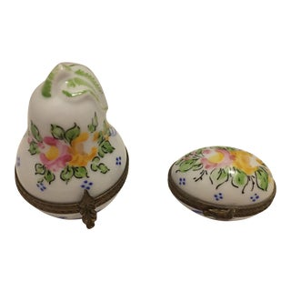 Vintage Limoge French Boxes - a Pair For Sale