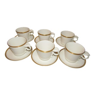 Vintage Custom Made Mayer China Co. Cobra Cups - Set of 6 For Sale