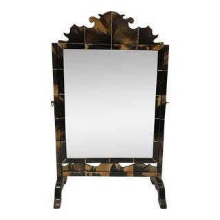 Vintage Tortoiseshell Vanity Mirror