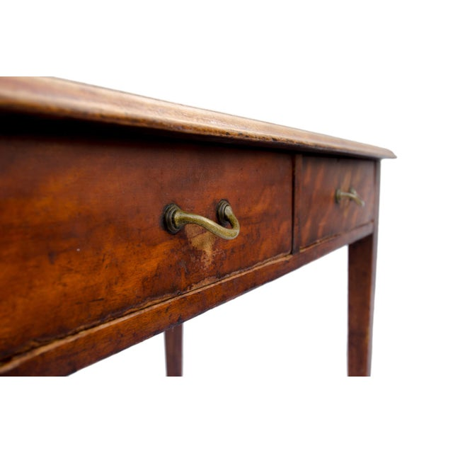 Antique Cherry Desk or Dressing Table - Image 3 of 8 - Antique Cherry Desk Or Dressing Table Chairish