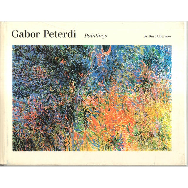 Gabor Peterdi's Paintings Book For Sale