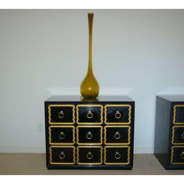 Mid-Century Modern Vintage Arthur Percy for Gullaskruf Swedish Glass Vase Amber For Sale - Image 3 of 7