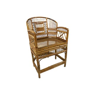 Brighton Pavillion Style Bamboo Chair For Sale