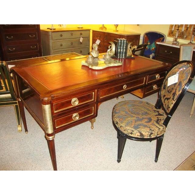 Maison Jansen Louis XVI Style Leather Top Desk - Image 2 of 8