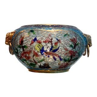 Chinese Plique-a-jour Archaic Style Bowl For Sale