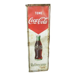 Vintage Cuban Coke Sign