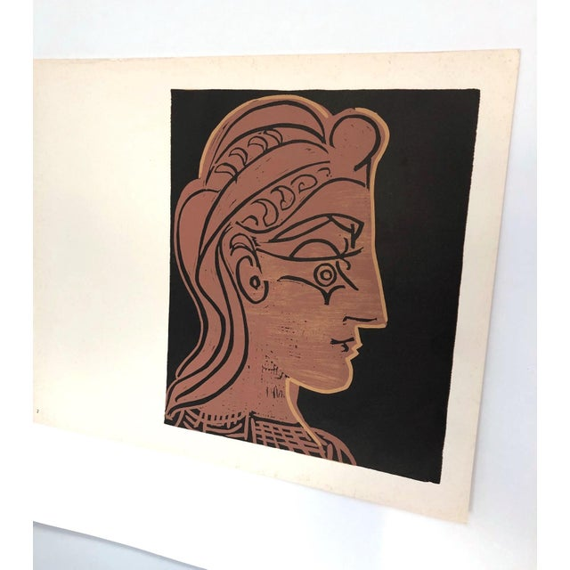 Abstract Picasso Vintage Print For Sale - Image 3 of 11