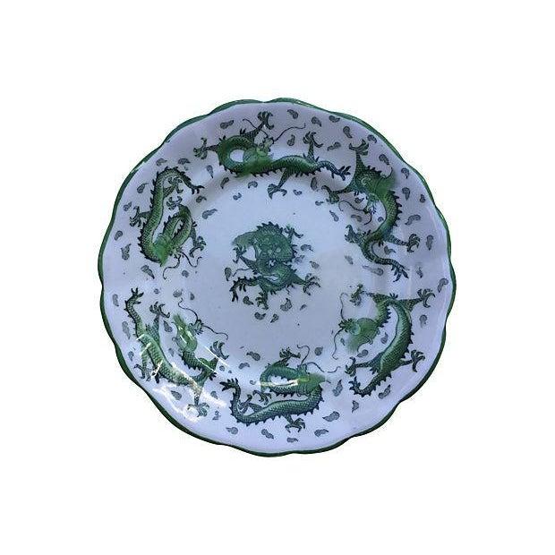 English Dragon Wall Plates - Set of 4 - Image 2 of 6