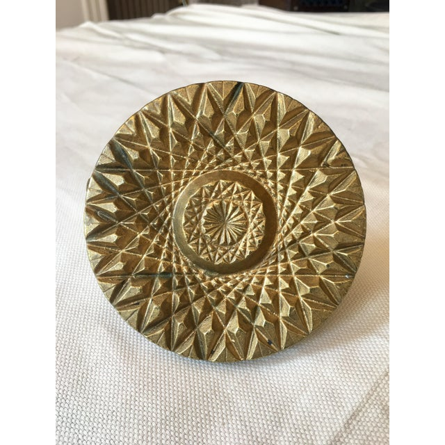 20th Century Art Deco Large Cast Decorative Knob For Sale In Washington DC - Image 6 of 6