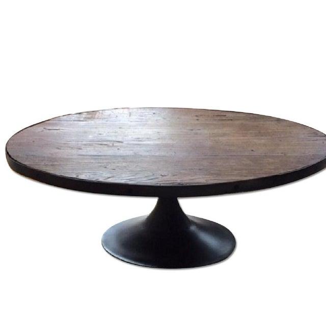 Restoration Hardware Aero Oval Coffee Table - Image 5 of 6