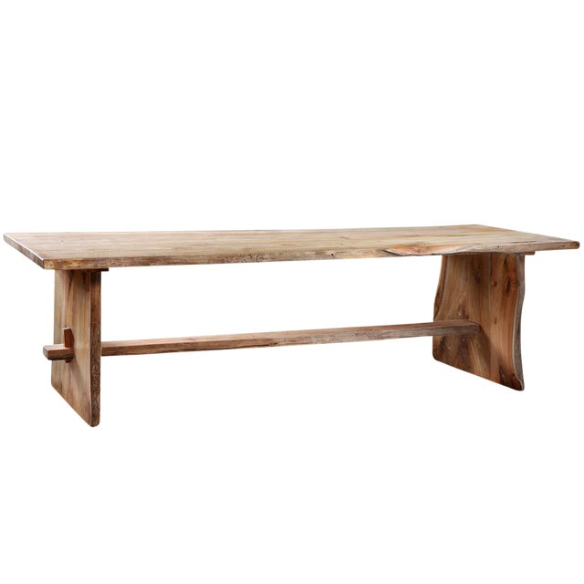 Coffee Table Teak Live Edge: Solid Teak Live Edge Dining Table