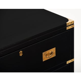 English Antique Campaign Chest Preview