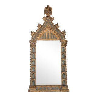 20th Century Italian NeoClassical Overmantle Mirror For Sale