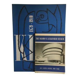 1960s Guggenheim Museum Paul Klee Books - Set of 2 For Sale
