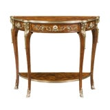 Image of Louis XV Style Console Table For Sale