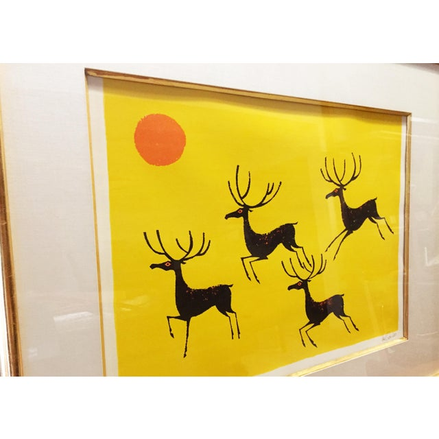 Vintage Keith DeCarlo Signed & Framed Lithograph - Image 6 of 6