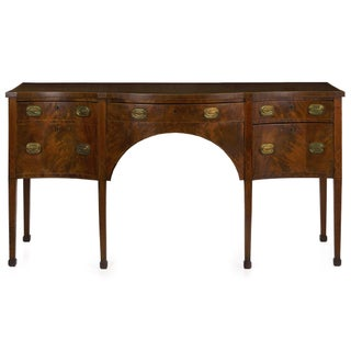 Circa 1780 English George III Period Antique Mahogany Sideboard Preview